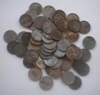 ROLL OF 50 1943-S STEEL CENTS