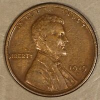 1919 D LINCOLN CENT     FREE U.S. SHIPPING