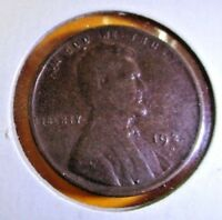 1924 D  LINCOIN WHEAT CENT - F - CIRCULATED