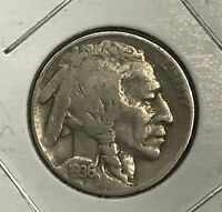 1936 BUFFALO NICKEL.  COLLECTOR COIN FOR YOUR COLLECTION OR SET.4