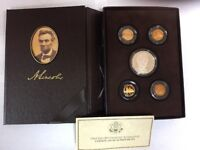 2009 UNITED STATES MINT LINCOLN COIN AND CHRONICLES SET