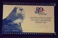 2006S US MINT 50 STATE QUARTERS PROOF SET. ULTRA CAMEOS.         MF