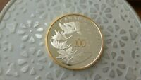 2008 SPECIAL EDITION MINT 100TH ANN GOLD PLATED PROOF SILVER DOLLAR