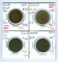 CANADA:4 LG CTS 1859 N9 DP2;1891SD SL;1892 1907H.SEE DETAIL.$455