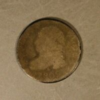 1809 US CAPPED BUST DIME HEAVY CIRCULATION          FREE U.S. SHIPPING