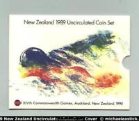 NEW ZEALAND 1989 UNCIRCULATED MINT COIN SET