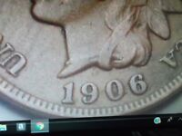 1906 INDIAN HEAD CENT NICE COIN FOR YOUR ALBUM