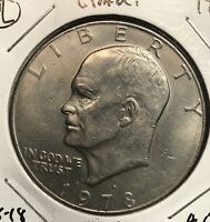 1978-D EISENHOWER DOLLAR.  COLLECTOR COIN FOR SET OR COLLECTION. 2