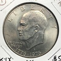 1976-D EISENHOWER DOLLAR.  COLLECTOR COIN FOR SET OR COLLECTION. 1