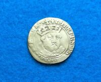 1547 GREAT BRITAIN GROAT   HENRY VIII   ALTERED ON REVERSE
