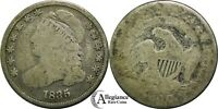 1835 10C CAPPED BUST SILVER DIME ORIGINAL &   OLD TYPE COIN MONEY
