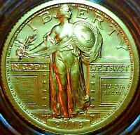 2016-W 1/4 OZ GOLD STANDING LIBERTY QUARTER W/OGP IN UNOPENED SEALED BOX