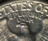 1950 WASHINGTON QUARTER DOUBLED DIE DDR 001 FS 801   DOUBLE BEAK