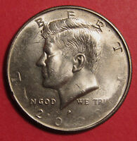 2000 P KENNEDY HALF DOLLAR MINT ERROR   STRUCK THROUGH
