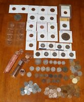 COIN COLLECTION LOT   SILVER B/U CENT TYPES PROOFS ERROR COINS MORE