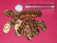 1947 D LINCOLN WHEAT CENT ROLL  50 COINS    B/U
