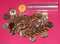 1952 D LINCOLN WHEAT CENT ROLL  50 COINS    B/U