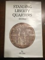 BOOK STANDING LIBERTY QUARTERS J.H. CLINE REVISED EDITION SIGNED