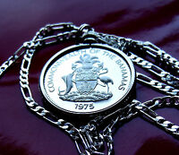 BAHAMAS MARLIN COAT OF ARMS  PENDANT ON A 30