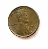 1909  LINCOLN WHEAT  CENT  EXTRA FINE