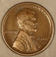 1916 S LINCOLN CENT   FREE U.S. SHIPPING