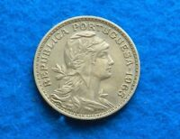 1963 PORTUGAL 50 CENTAVOS - BEAUTIFUL COIN - SEE PICS