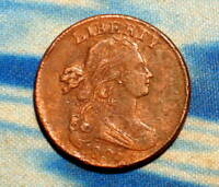 1805 LARGE CENT  EXTRA FINE  DETAILS.