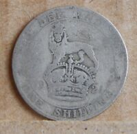 1921 GEORGE V SHILLING 50 SILVER COIN ENGLISH U.K COIN.