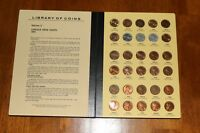 LINCOLN CENT LIBRARY OF COINS ALBUM 1941  VOL. 3   MOSTLY UNC 89 COINS