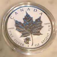 2017 1 OZ SILVER $5 CANADIAN COUGAR PRIVY MAPLE LEAF REVERSE