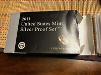LOT OF  4   UNITED STATES MINT SILVER PROOF SETS: 2011 2014
