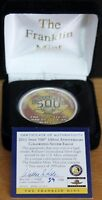 2010 COLORIZED INDIANAPOLIS 500 100TH ANNIVERSARY SILVER EAGLE FRANKLIN MINT