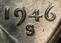 1946 S/S/S LINCOLN WHEAT CENT RPM 020