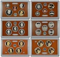 2011 U.S. MINT PROOF SET. 14 COINS WITH BOX AND COA