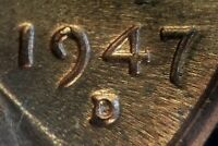 1947 D/D LINCOLN WHEAT CENT RPM 001   BU