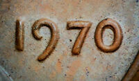 1970 LINCOLN MEMORIAL CENT DOUBLED DIE WDDO 007