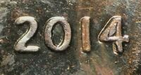 2014 LINCOLN SHIELD CENT DOUBLED DIE DDO 003