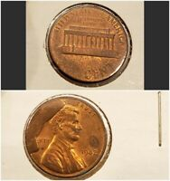 1982  LINCOLN MEMORIAL PENNY CENT CUD MAJOR ERROR MISSING
