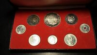 HUNGARY MAGYAR 1967 8 COIN PROOF SET