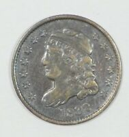 1832 CAPPED BUST  HALF DIME  FINE SILVER 5C