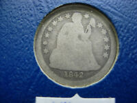1842-O SEATED LIBERTY SILVER DIME - L57