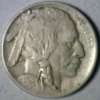 1913 TYPE I BUFFALO NICKEL COIN INDIAN HEAD FIVE CENTS US TYPE EXTRA FINE  EXTRA FINE Y2