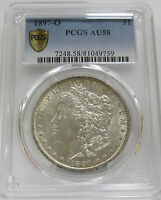 1897-O MORGAN SILVER DOLLAR PCGS AU58  BETTER DATE COIN