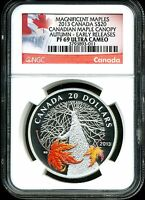 CANADA 2013 $20 PROOF MAGNIFICENT MAPLE CANOPY AUTUMN PF69 UCAM NGC 3793893 011