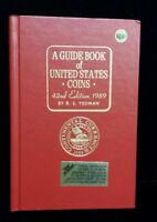 1989 RED BOOK A GUIDE BOOK OF UNITED STATES COINS PRICE GUIDE 42ND EDITION