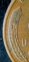 1940 S LINCOLN WHEAT CENT WITH CUD   RCD 1C 1940S 32R