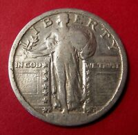 1917 S STANDING LIBERTY QUARTER TYPE 2   CLEANED