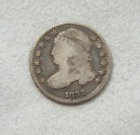 1832 CAPPED BUST DIME  GOOD SILVER 10-CENTS