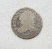 1829 CAPPED BUST DIME GOOD SILVER 10-CENTS