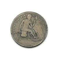 1859 0 UNITED STATES SEATED LIBERTY